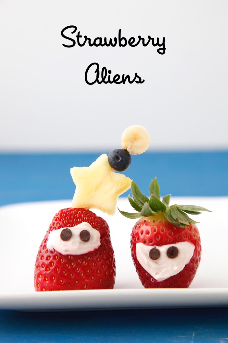 Strawberry Aliens from Weelicious