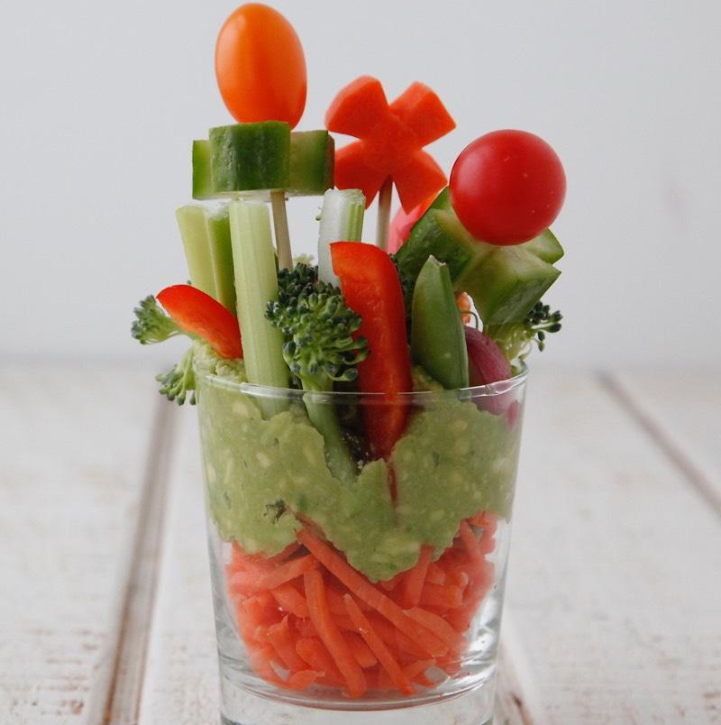 Veggie Garden Cups from Weelicious
