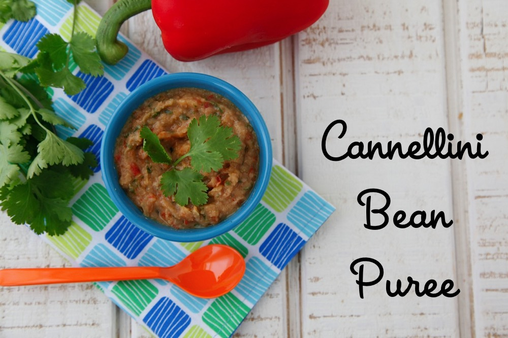 Cannellini Bean Puree from Weelicious