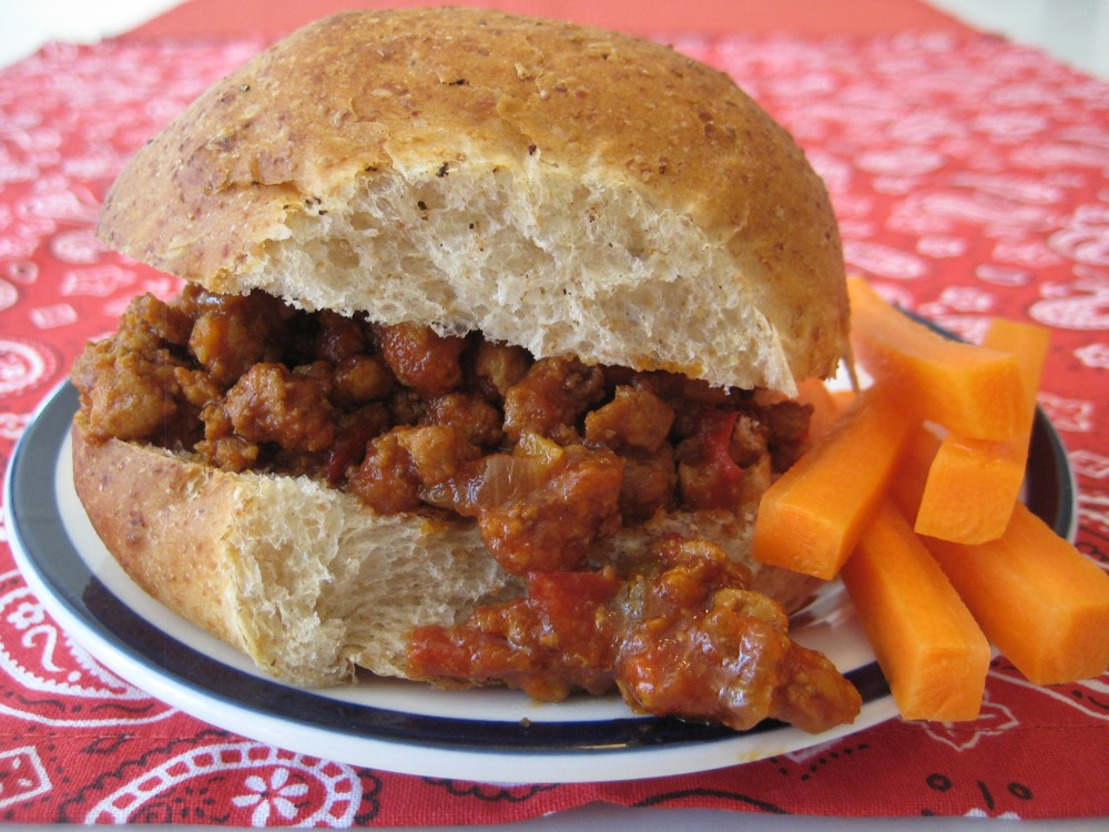 Turkey Sloppy Joes from Weelicious