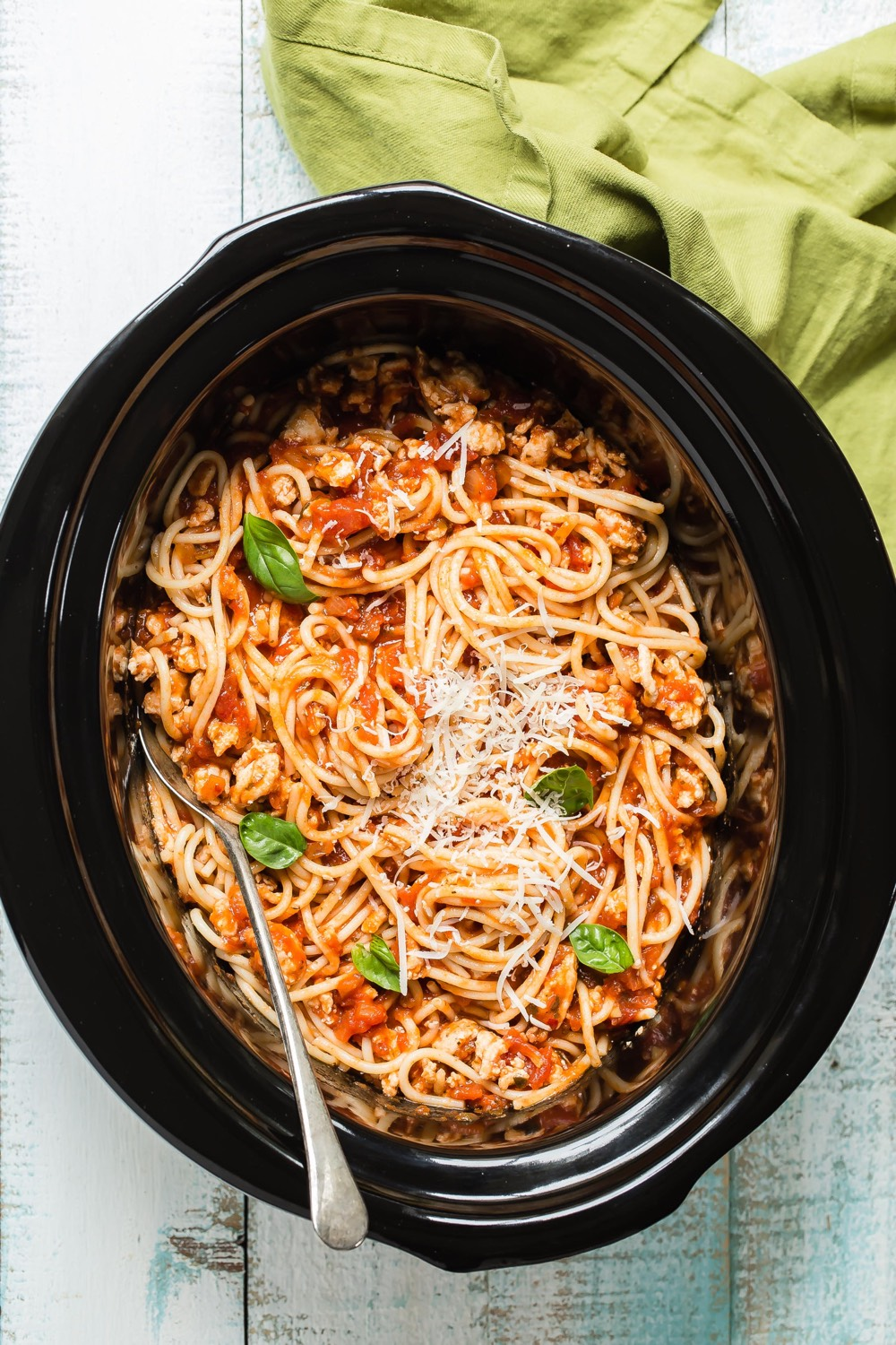 Crock Pot Spaghetti from weelicious.com
