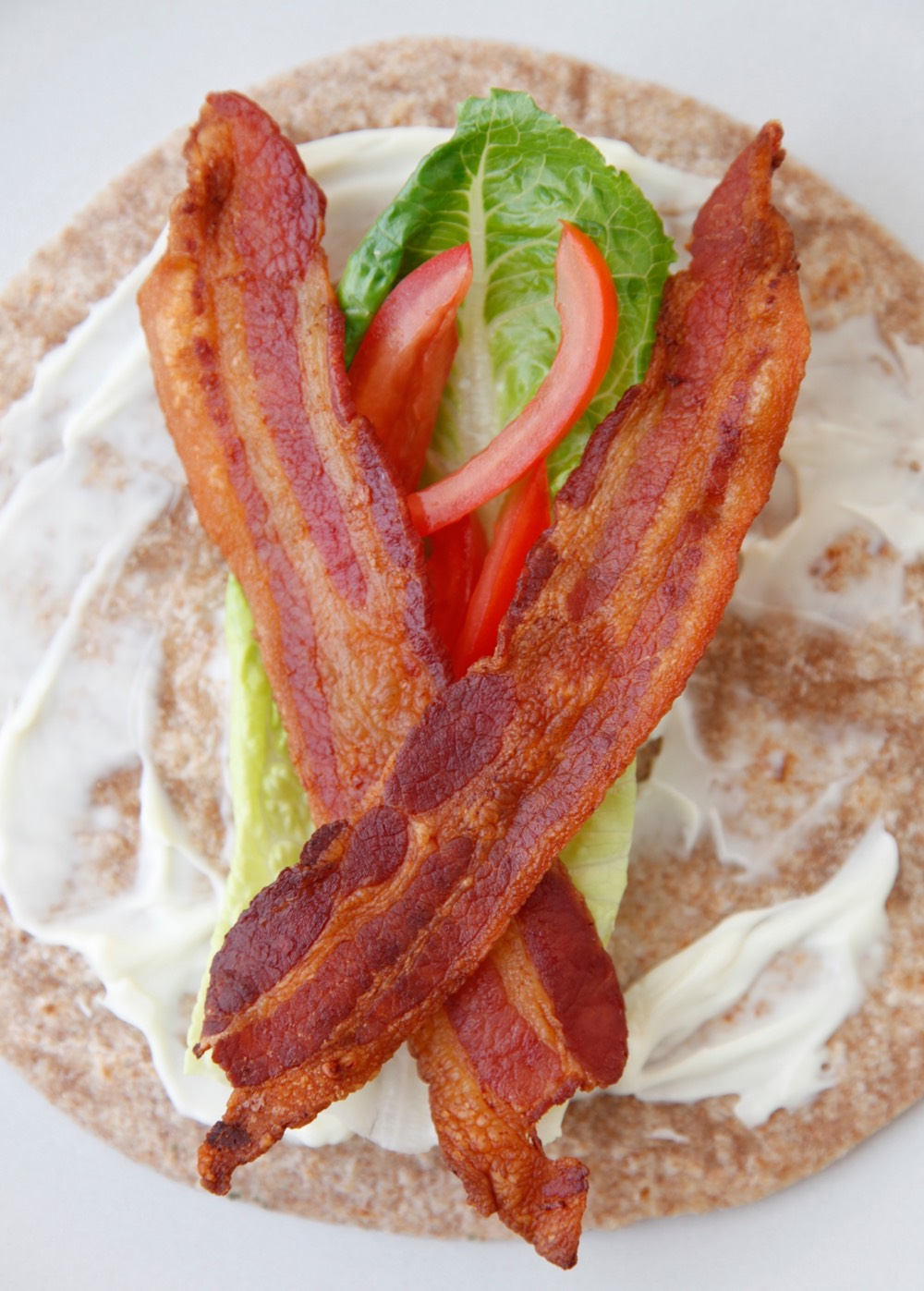 BLT Wraps from weelicious.com