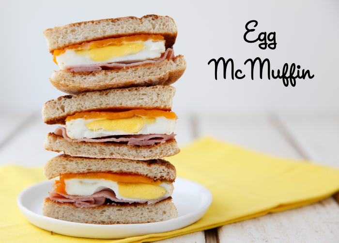 Egg McMuffin recipe from weelicious.com