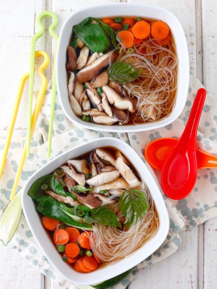 Vegetarian Pho | Weelicious