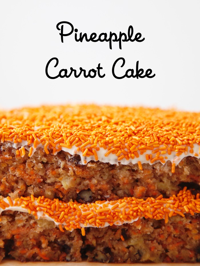 Pineapple Carrot Cake video from weelicious.com