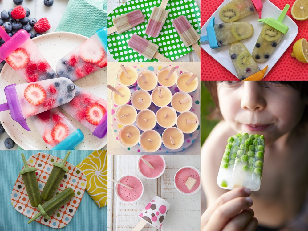 7 Popsicle Recipes from weelicious.com