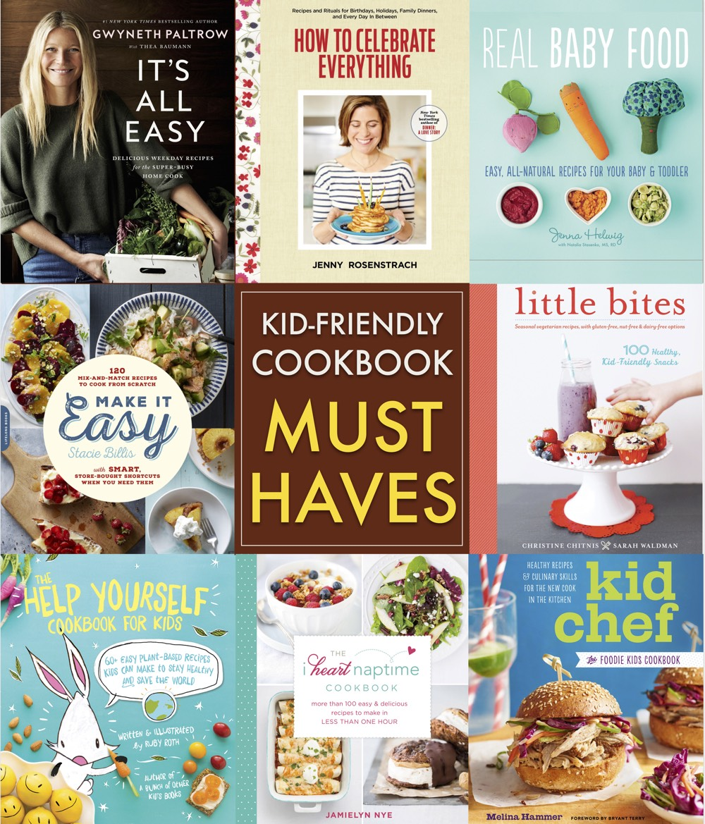Kid Friendly Cookbook Must Haves from weelicious.com