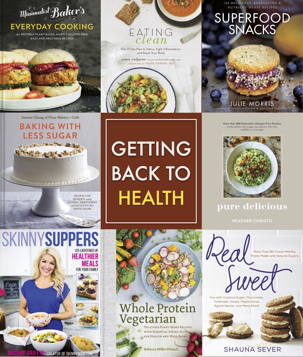 Back to Health Cookbooks from weelicious.com